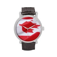 Flag Canada watch