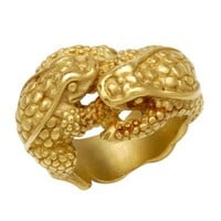 Kieselstein-Cord LN 18K Yellow Gold Dual Frog Ring, 9/10 Condition - 			        	For Your Little One: Designer Pieces Shop