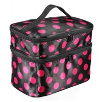 Pink Dot Make Up Bag