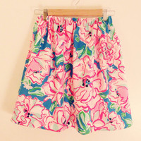Lilly Pulitzer Lucky Charms Cissy Skirt Preppy Sorority