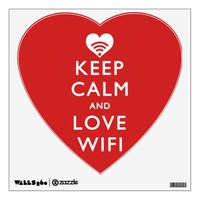 Keep Calm And Love WiFi