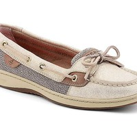 Sparkle Suede Angelfish Boat Shoe