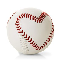 Heart-Stitched Baseball