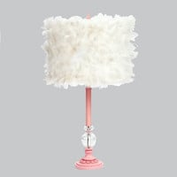 Priscilla Lamp in Pink with Choice of Shade