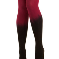 Got It Fade Tights in Fuchsia | Mod Retro Vintage Tights | ModCloth.com