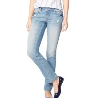 Aeropostale Bayla Skinny Light Wash Jean - Light Wash,
