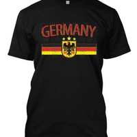 Tcombo Germany Deutchland Soccer Football Nationality And Ethnic Pride Country Flag Men's T-shirt Serie 01