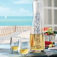 2 Piece Chilling Carafe and Steady-Temp Tumblers Set