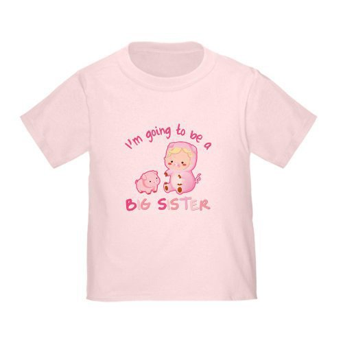 I&#x27;m going to be a Big Sister Toddler T-Shir Big sister Toddler T-Shirt by CafePress