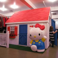 hello kitty playhouse.
