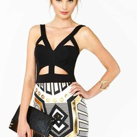 Nasty Gal Metal Future Dress