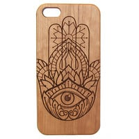 Hamsa - iPhone Case | UK Custom Plugs Shop for gauges, alternative fashion & body jewellery