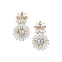 Premium Floral Stone Earrings