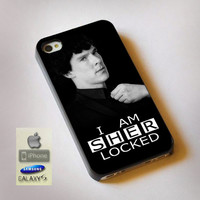 I Am Sherlocked - Print on Hard Plastic, available for iPhone and Samsung Galaxy. Choose for your device