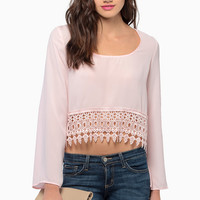 Caroline Cropped Blouse $35