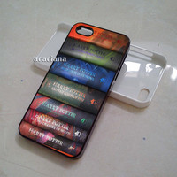 Harry Potter All 7 Books Series iPhone 5C Case, iPhone 5S Case, iPhone 5 Case, iPhone 4/4S Case, Samsung Galaxy S3 & S4 Case