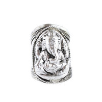 Ganesha Elephant Amulet Ring | Shop Dixi