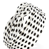 Mod Dots Knotted Headwrap