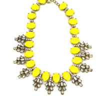 LEMON DROPLETS STATEMENT PIECE