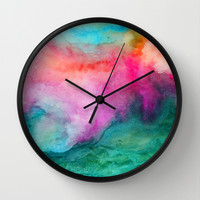 Staring at the Ceiling Wall Clock by Jacqueline Maldonado