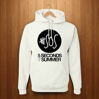 5 second of summer logo SOS hoodie pickcustom