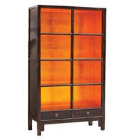 Tansu.Net :: Living Room Furniture :: Bookcases :: Sangui Book Shelf Large - Bronze