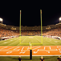 Oklahoma State University - Boone Pickens Stadium Stretched Canvas Print at Art.com
