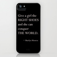 Valentine's Day - Marilyn Monroe Quote - iPhone 5 Case - Galaxy 5 Phone Case - Typography - Gifts for Teen Girls
