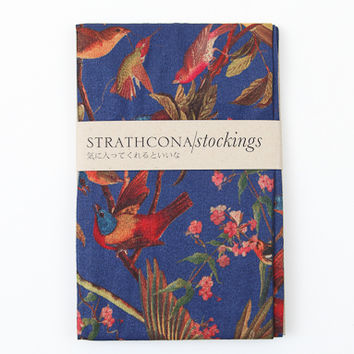 Strathcona Stockings- Blue Bird