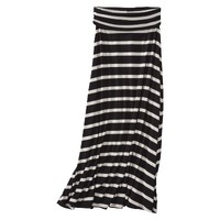 Merona® Women's Knit Convertible Maxi Skirt - Stripes