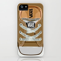 Cute brown Vans all star baby shoes apple iPhone 4 4s, 5 5s 5c, iPod & samsung galaxy s4 case