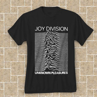 Hot Joy Division Unknown Pleasures T-shirt