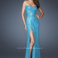 La Femme 19099 at Prom Dress Shop