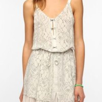 UrbanOutfitters.com &gt; Chandi &amp; Lia Peek-A-Boo Pleated Dress