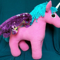 Customizable Alicorn Plush - choose your own colors and patterns