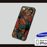 Superman Collage Art Case for iPhone 4/4s iPhone 5/5c and Samsung Galaxy S3/S4