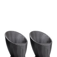 ideeli | ZUO MODERN Set of 2 Cabo Chairs
