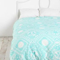 UrbanOutfitters.com &gt; Papercut Duvet Cover