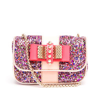 CHRISTIAN LOUBOUTIN | Sweet Charity Glitter Shoulder Bag | Browns fashion & designer clothes & clothing