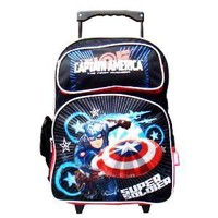 Captain America (The First Avenger) Large Rolling Backpack