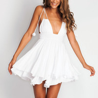 Indah Ophelia Dress in white
