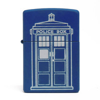 Doctor Who Tardis Authentic Zippo Lighter