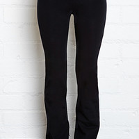 Fold-Over Yoga Pants