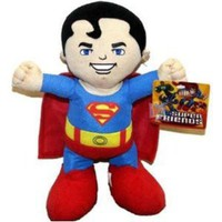 Superman Plush Toy - DC Super Friends Doll (13 Inch)