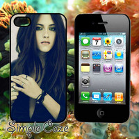 Kristen Stewart,Accsessories,Case,Cell Phone,iPhone 4/4S,iPhone 5/5S/5C,Samsung Galaxy S3,Samsung Galaxy S4,Rubber/1012Q18