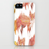 Remix Red Fox iPhone & iPod Case by Ben Geiger