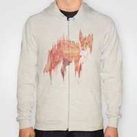Remix Red Fox Hoody by Ben Geiger