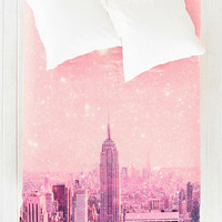 Bianca Green For DENY Stardust Covering NYC Duvet Cover - Urban Outfitters