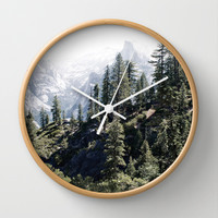 Yosemite Nature Hike Photo Wall Clock by Two if by Sea Studios
