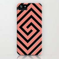 Peachy Greek iPhone & iPod Case by Lyle Hatch